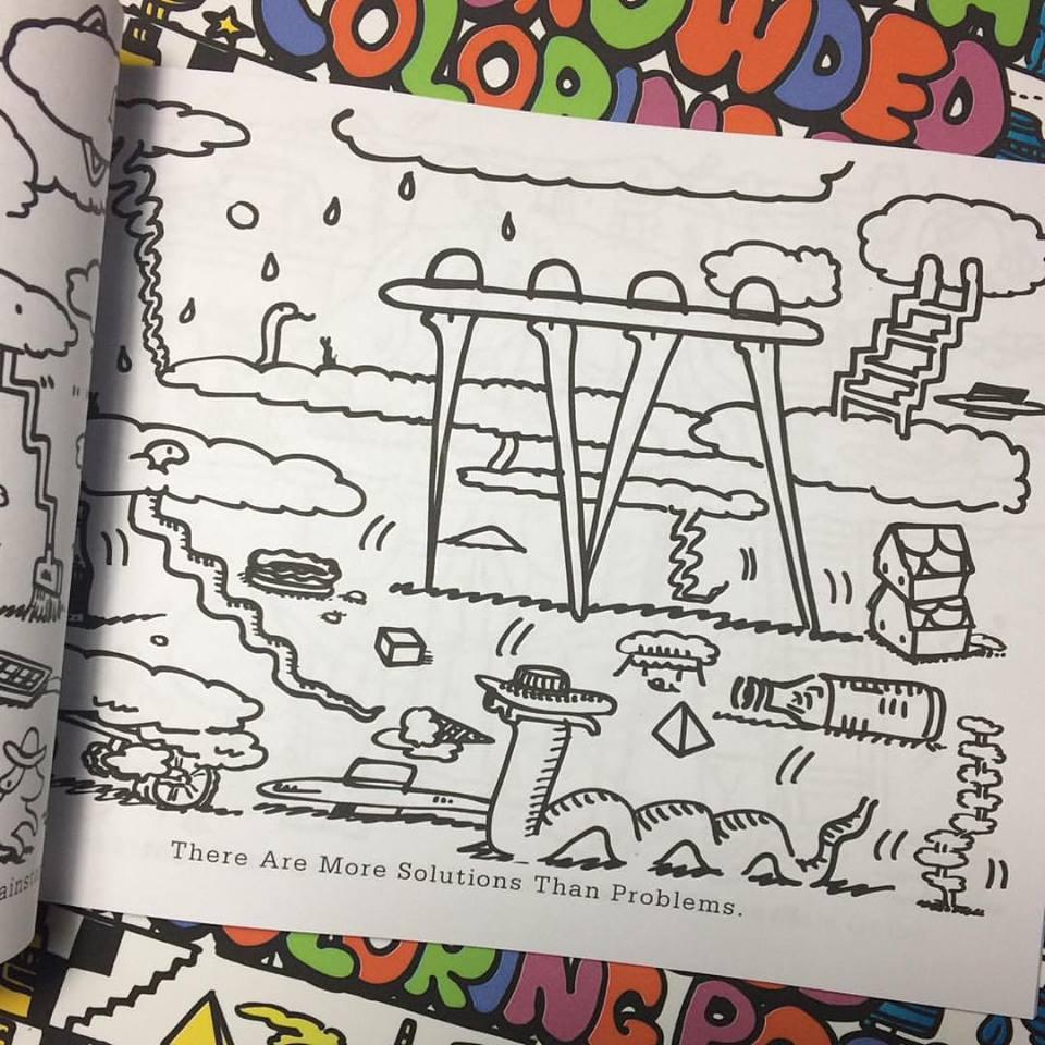 Cool Coloring Books - Smokey\'s Tangle